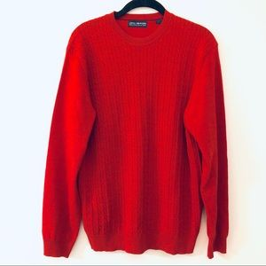 John Ashford Cable Knit Sweater